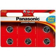 Panasonic Baterije Lithium CR-2016L, 6 komada