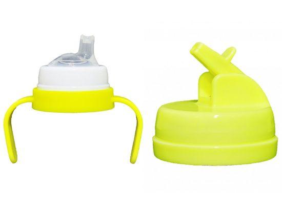 Pacific Baby Set Handle Drink Top žlutá