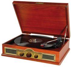 HYUNDAI gramofon RT 910, Wiśnia