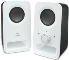 Logitech głośniki Multimedia Speakers Z150 Snow white (980-000815)