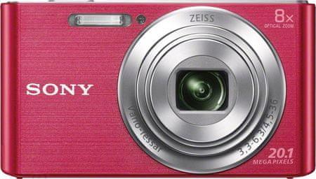 SONY DSC-W830, różowy