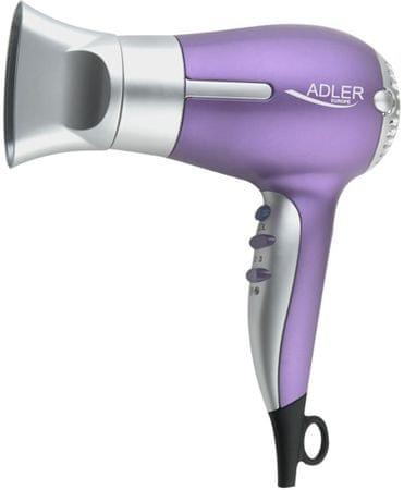 Adler sušilo za kosu 1500 W, ljubičasto AD2218