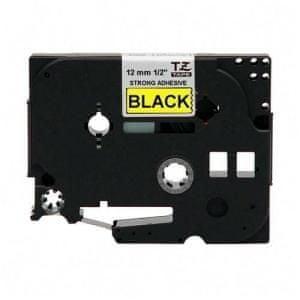 Brother P-touch TZE135 prozirna/bijela, 12 mm