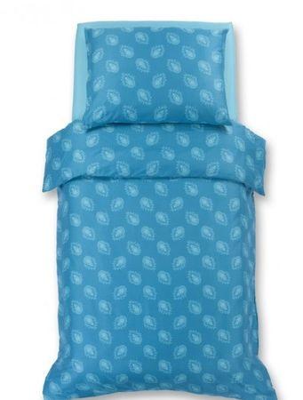 Odeja Harmony posteljina, 200 x 260 cm + 2 x 60 x 80 cm, tirkizna