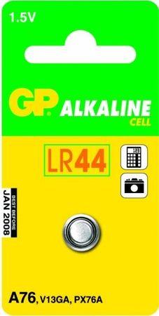 GP Baterija LR44/A76, 1.5V, 1 kos