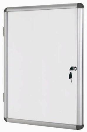 Bi-Office Oglasna omarica s ključem Bi-Office, magnetna, 1 x A4 367 x 280 mm