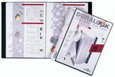 Durable Mapa Duralook Plus z vložnimi žepi, 40 žepov (2434)