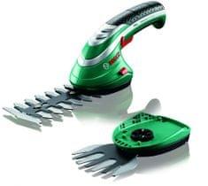 Bosch ISIO 3, nožnice na kríky + lišta na trávu