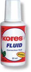 KORES Opravný lak Fluid 20 ml so štetčekom