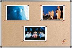 Nobo ploča pluto Elipse Cork Board, 90 x 120 cm