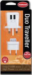 Hähnel potovalni USB polnilec Hahnel Duo Traveller