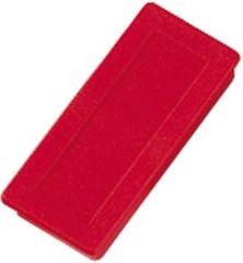 Dahle Magnet 23 x 50mm, rdeč, 10 kosov