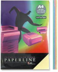 Paperline uredski papir A4, pastelni, 250 listova