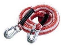 CarPoint Pružné tažné lano se 2 háky 2800 kg