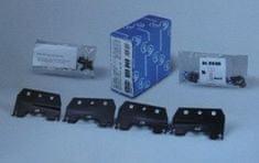 Cruz Kit za strešni prtljažnik za Audi A4 (08>) (935-451) - Odprta embalaža