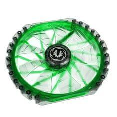 BitFenix Ventilator za ohišje Spectre PRO 230 mm, zelen