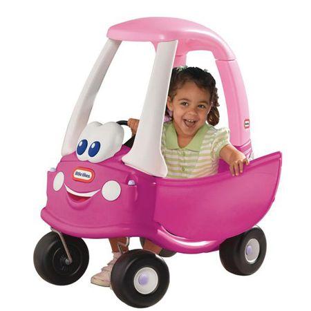 Little Tikes Futóbicikli Cozy Coupe rózsaszín lábbal hajthatós játék