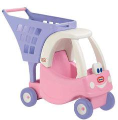 Little Tikes Cozy nákupný vozík - ružový