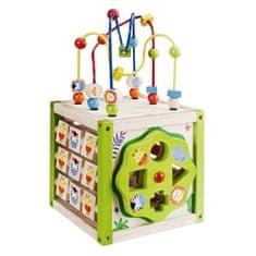 EverEarth Drveni igrači centar za razvijanje motorike 5u1, manji