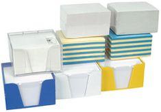 Papirna kocka lepljena 100 x 85 x 60 mm, barvna