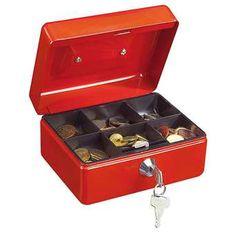 Rottner kaseta za denar Prosigma Traun 1, rdeča