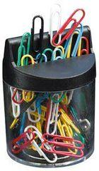 Staples magnetna škatlica za sponke + 150 barvnih sponk