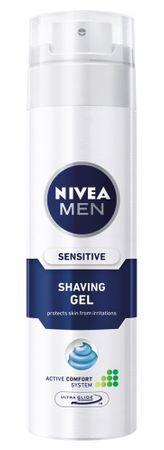 Nivea gel za britje za občutljivo kožo