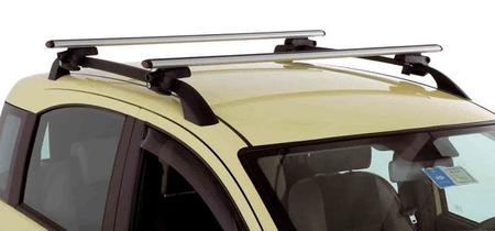 G3 krovni prtljažnik za krovne nosače, aluminij, 130 cm