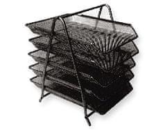 Net Predalnik za papir LD01-58-5, petdelni, črn