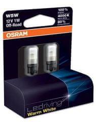 Osram žarnica LED 12V - 1W W2.1X9.5d steklenka 4000 K W5W