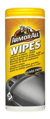 Armor robčki za čiščenje in zaščito plastike, gume in vinila All Dashboard Wipes