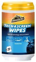 Armor robčki Tech & Screen Wipes za čiščenje ekranov