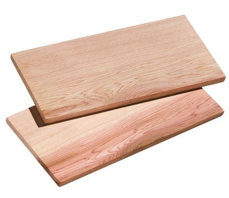 Küchenprofi Smoky cedrowe deski 2 szt. 35x17,5 cm
