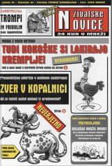 Primož Suhodolčan: Živalske novice - 24 kur v mreži, trda