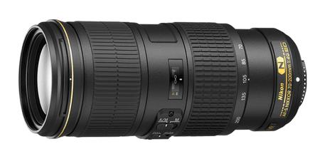 Nikon objektiv AF-S 70-200 mm f/4G ED VR