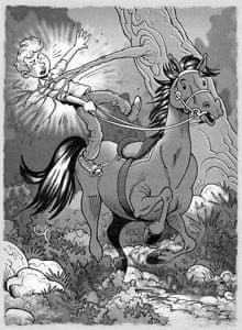 Ivan Sivec, Princ na belem konju, Romanca za punco, dva fanta in lipicanca