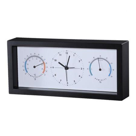 HAMA termometr/ higrometr TH33-A - czarny