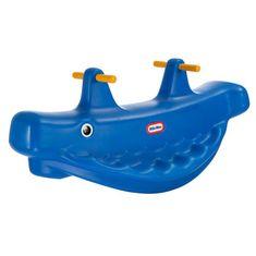 Little Tikes Huśtawka Wieloryb na biegunach, niebieska