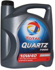 Total motorno ulje Quartz Diesel 7000 10W-40, 5l