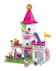 Unico Hello Kitty Księżniczka - Duży zamek