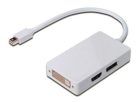 Digitus Adapter DisplayPort mini v DVI/HDMI/DisplayPort