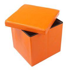 Kutija tabure TA01-O, narančasta