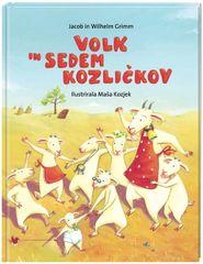 Volk in sedem kozličkov, Jacob in Wilhelm Grimm (trda, 2012 (1. ponatis))