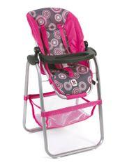 Bayer Chic Jídelní židlička pro panenku