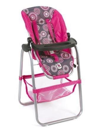 Bayer Chic Jídelní židlička pro panenku, 87