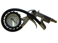 Pištola za polnjenje pnevmatik z manometrom, od 0 do 12 barov