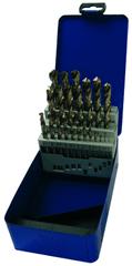 Terrax spiralni svedri DIN 338, brušeni, Tip-N HSS-G, 25 kos