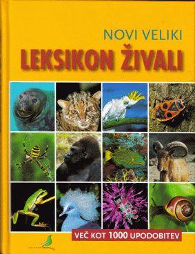 Novi veliki leksikon živali (trda, 2008)
