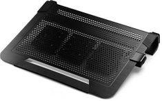 Cooler Master hladilo za prijenosna računala Cooler Master NotePal U3 Plus (R9-NBC-U3PK-GP), crni