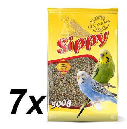 Akinu  hrana za papagaje, 7 x 450 g